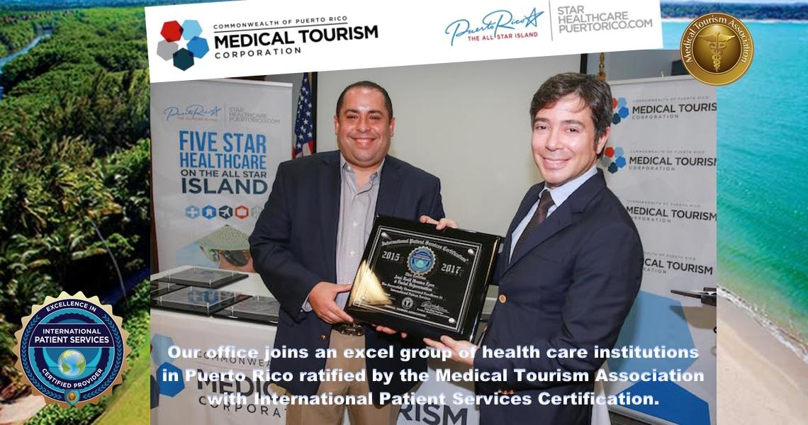 José Raúl Montes Eyes & Facial Rejuvenation attains International Patient Services® Certification