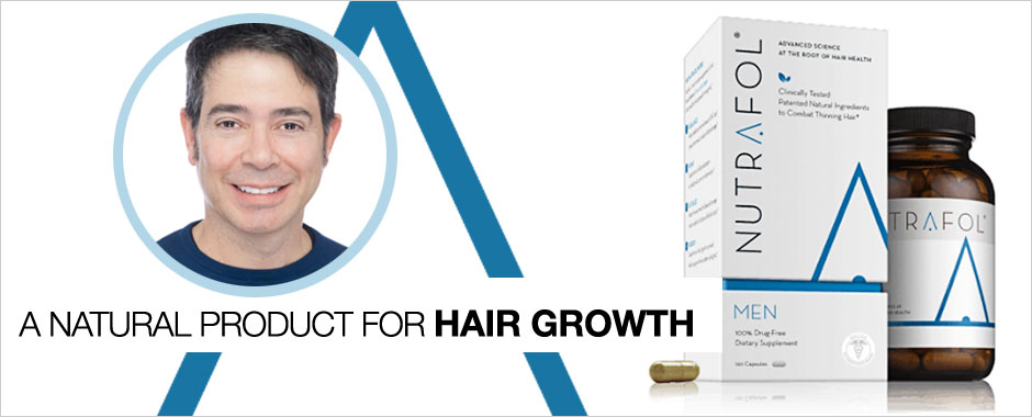 Nutrafol — A New Look at Pathogenesis of Hair Loss