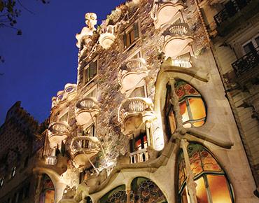 Barcelona Oculoplastics 2019 - La Casa Batlló de Antoni Gaudí