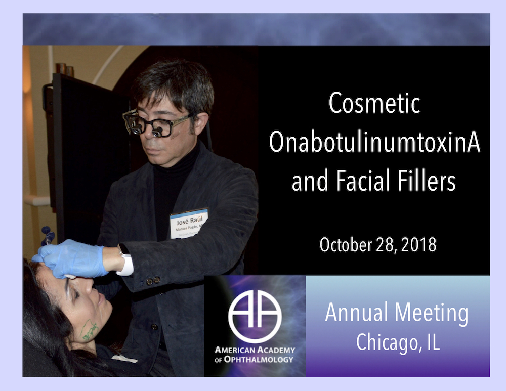Cosmetic OnabotulinumtoxinA and Facial Fillers | 28.10.18 Chicago