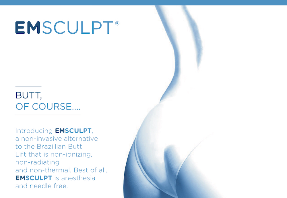 emsculpt for butt lift and is anesthesia free