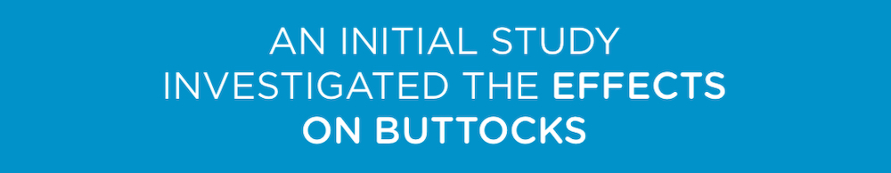 an initial study investigated the effects on buttocks of emsculpt