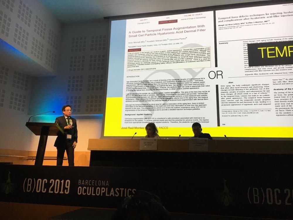 barcelona oculoplastics 2019 conferencias dr montes 10