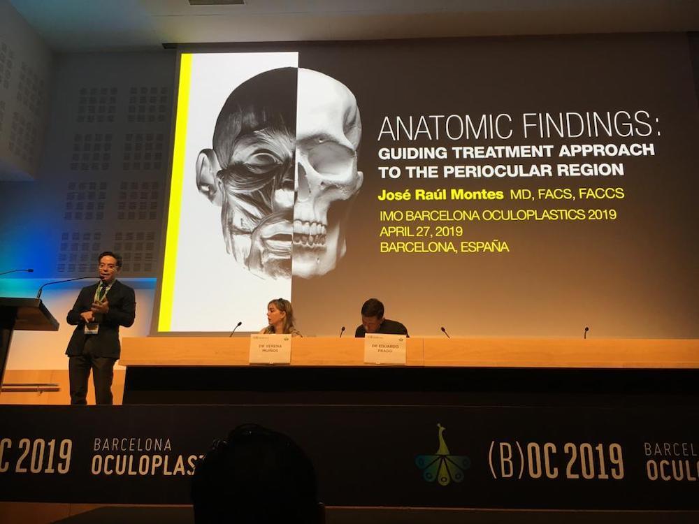 barcelona oculoplastics 2019 conferencias dr montes 2