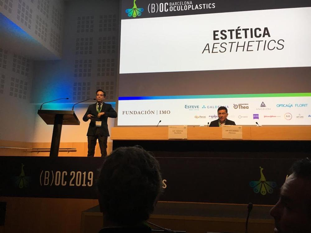 barcelona oculoplastics 2019 conferencias dr montes 4