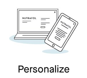 nutrafol personalize
