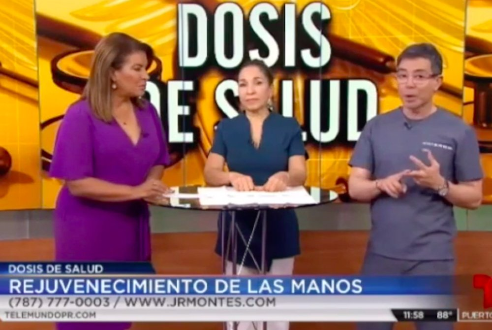 telemundo telenoticias - radiesse_ 7 de agosto de 2019 - rejuvenecimiento de manos