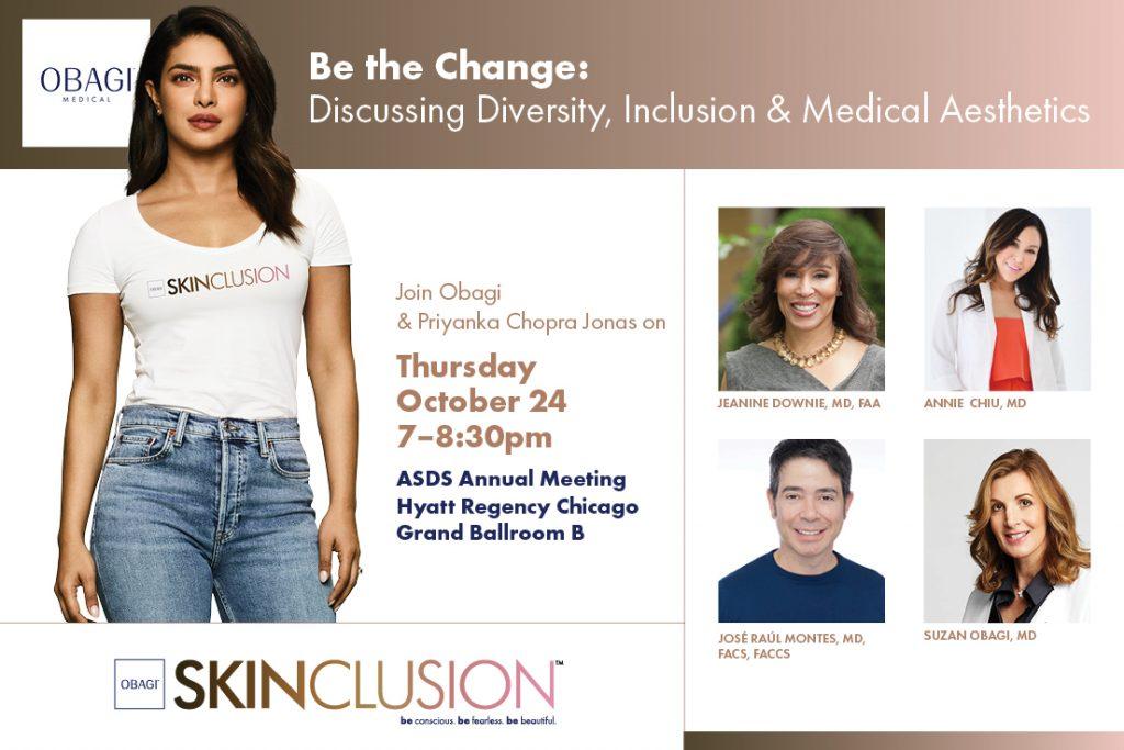 Chicago ASDS 2019 Obagi Skinclusion Promo Post
