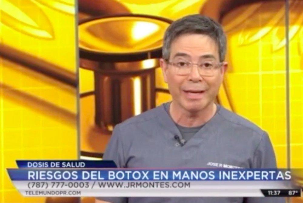 telemundo telenoticias riesgos del botox