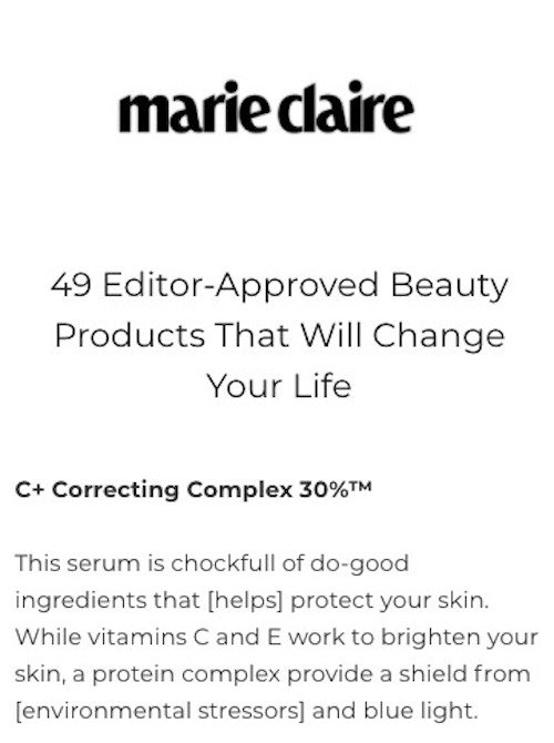 revision skincare 9 marie claire